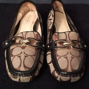 Coach Loafers Size 8B